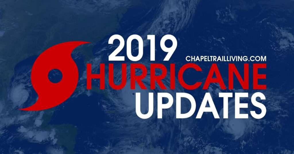 2019 Storm Updates